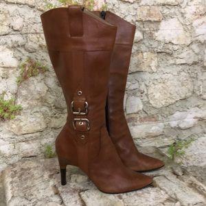Via Spiga tall upper leather boots  Lyra 8M